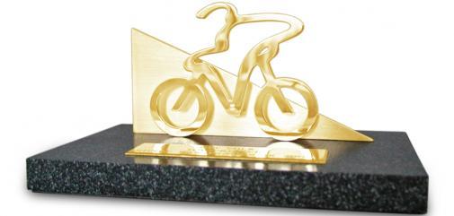trophées sur mesure course cycliste