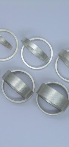basisringen in zilver
