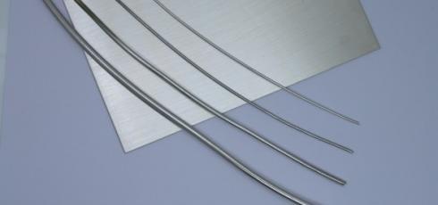 zilverplaat en -draad