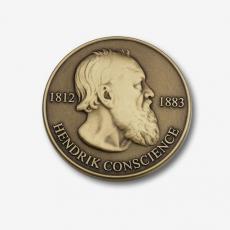 gegraveerde medaille hendrik conscience bestellen