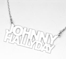 collier johnny hallyday